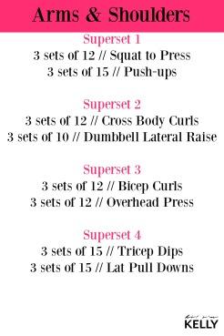 Arm & Shoulder Workout