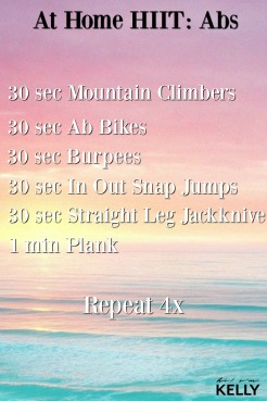 At Home HIIT: Abs