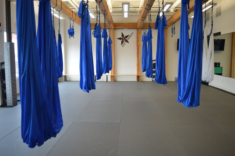 Aerial Yoga with InFlight Fitness, Calgary AB