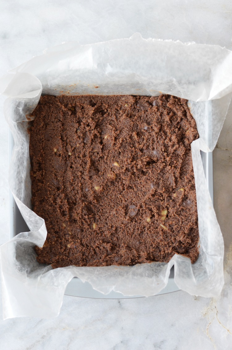 30 Minute Clean Coconut & Walnut Brownies